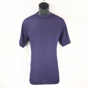 Men's Crew Neck Purple T-shirt By LOG-IN UOMO